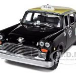 1981 Checker A11 Black Cab Taxi 1/18 Diecast Car Model by Sunstar