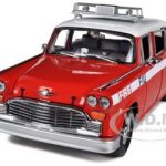 1981 Checker A11 Chelsea Fire Department 1/18 Diecast Car Model by Sunstar