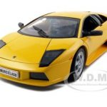 Lamborghini Murcielago Yellow 1/18 Diecast Car Model by Welly