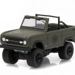 1977 Ford Bronco Military Tribute Sarge 77 Hobby Exclusive 1/64 Diecast Model Car by Greenlight