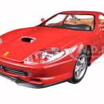 Ferrari 550 Maranello Red 1/24 Diecast Model Car by Bburago