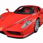 Ferrari Enzo Red 1/24 Diecast Model Car by Bburago