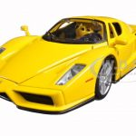 Ferrari Enzo Yellow 1/24 Diecast Model Car by Bburago