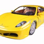 Ferrari F430 Yellow 1/24 Diecast Model Car by Bburago