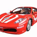 Ferrari F430 Fiorano #27 Red 1/24 Diecast Model Car by Bburago