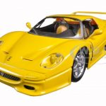Ferrari F50 Yellow 1/24 Diecast Model Car by Bburago