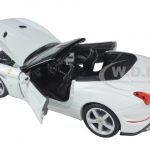 Ferrari California T White Open Top 1/24 Diecast Model Car by Bburago