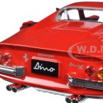Ferrari 246 GTB Dino Red 1/24 Diecast Model Car by Bburago