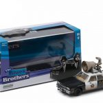 1974 Dodge Monaco Bluesmobile Blues Brothers Movie (1980) with Speaker on Roof 1/43 Diecast Model Car by Greenlight