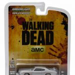 1971 Pontiac GTO Silver The Walking Dead TV Series Episode 1.01 (2010-2015) 1/64 Diecast Model Car by Greenlight