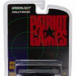 1987 Jeep Wrangler YJ Black Patriot Games Movie (1992) 1/64 Diecast Model Car by Greenlight