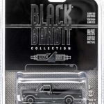 1968 Chevrolet C-10 Pickup Truck Black Bandit 1/64 Diecast Car Model by Greenlight