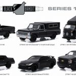 Black Bandit Series 13 6pc set 1/64 Diecast Model Cars by Greenlight