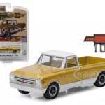 1968 Chevrolet C-10 Anniversary Gold Chevy Trucks 50th Anniversary Collection 1/64 Diecast Model Car by Greenlight