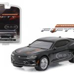 2017 Chevrolet Camaro SS Nightfall Gray Metallic Camaro 50th Anniversary Collection 1/64 Diecast Model Car by Greenlight