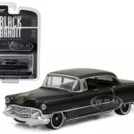 1955 Cadillac Fleetwood Series 60 Black Bandit 1/64 Diecast Model Car by Greenlight