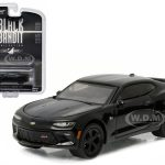 2016 Chevrolet Camaro SS Black Bandit 1/64 Diecast Model Car by Greenlight