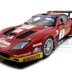 Ferrari 575 GTC Team J.M.B. Estoril 2003 #9 1/18 Diecast Model Car by Kyosho