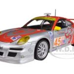 Porsche 911 GT3 RSR #45 Flying Lizard 1/24 Diecast Car Model by Bburago