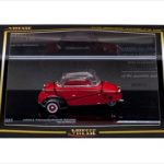 1960 Messerschmitt KR200 Kabinenroller Red 1/43 Limited Edition 1 of 1580 Produced Worldwide by Vitesse