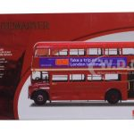 1964 Routemaster Double Decker London Bus Red RM2089-ALM89B 1/24 Diecast Model by Sunstar