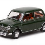 1976 Mini 1000 Stripey Limited Edition Brooklands Green 1/43 Diecast Model Car by Vitesse