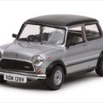 1979 Mini 1100 20th Anniversary Metallic Grey/Black 1/43 Diecast Model Car by Vitesse