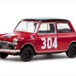 Morris Cooper #304 P.Moss/A.Wisdom 1st Ladies Rally Monte Carlo 1962 1/43 Diecast Model Car by Vitesse