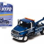 2013 International Durastar 4400 NYPD Tow Truck 1/64 Diecast Model by Greenlight