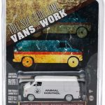 1976 Dodge B-100 Van Animal Control Hobby Exclusive 1/64 Diecast Car Model by Greenlight