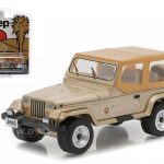 1993 Jeep Wrangler Sahara Hobby Exclusive 1/64 Diecast Model Car by Greenlight