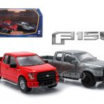 2015 Ford F-150 Pickup Trucks Hobby Only Exclusive 2 Cars Set 1/64 Diecast Models by Greenlight