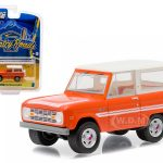 1976 Ford Bronco Orange Explorer Package Country Roads Series 14 1/64 Diecast Model Car by Greenlight