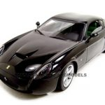 Ferrari 575 GTZ Zagato Elite Black 1/18 Diecast Model Car by Hotwheels