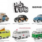 Greenlight Vee V Dub Series 3 6pc Diecast Car Set 1/64 Diecast Model Cars by Greenlight