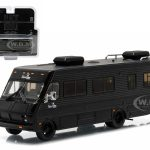 1986 Fleetwood Bounder RV Black Bandit Collection Hobby Exclusive 1/64 Diecast Model by Greenlight