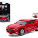 2016 Chevrolet Camaro SS Red All New Camaro Unveiling Edition 1/64 Diecast Model Car  by Greenlight