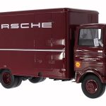 Mercedes LP 608 Koffer LKW Porsche 1/18 Model by Premium Classixx