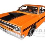 1970 Plymouth GTX Orange Custom 1/24 Diecast Car Model by Maisto