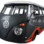 Volkswagen Van Samba Grey Outlaws 1/25 Diecast Model Car by Maisto