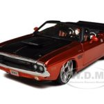 1970 Dodge Challenger R/T Convertible Bronze Custom 1/24 Diecast Model Car by Maisto