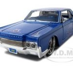 1966 Lincoln Continental Blue Pro Rodz  1/26 Diecast Model Car by Maisto
