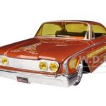 1960 Ford Starliner Orange All Stars 1/26 Diecast Model Car by Maisto