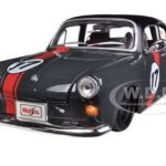Volkswagen 1600 Notchback Grey #17 1/24 Diecast Model Car by Maisto