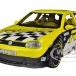 Volkswagen Golf R32 Yellow  All Stars 1/24 Diecast Model Car by Maisto