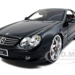 Mercedes SL 55 AMG All Stars Black 1/18 Diecast Model Car by Maisto