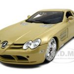 Mercedes Mclaren SLR Gold All Stars 1/18  Diecast Model Car by Maisto