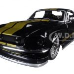 1967 Ford Mustang GT Black Classic Muscle 1/24 Diecast Model Car by Maisto
