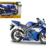 2004 Yamaha YZF-R1 Blue Bike 1/12 Motorcycle by Maisto