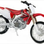 Honda CRF 450R White/Red Motorcycle 1/12 Diecast Model by Maisto